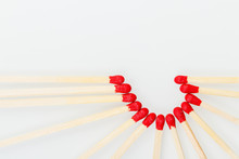 Matchstick With A Red Heart-sh...
