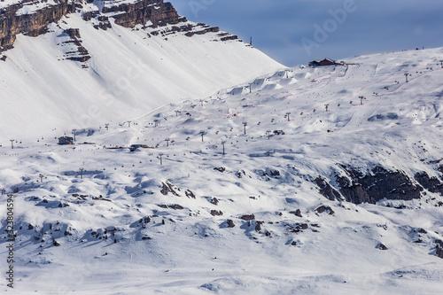Canvas Dolomiti del Brenta e Grostè viste dallo Chalet FIAT