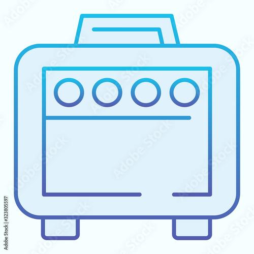 Photo Amplifier flat icon
