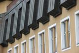 Fototapeta Londyn - rytmiczny budynek w Jańskich łaźniach