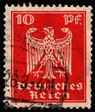 GERMANY - CIRCA 1924: Postage ...