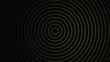 Schwarz Gold - Artdeco Glitzer Kreise Ringe - 3D - Illustration Textur Tapete Banner Webseite Hintergrund 4k
