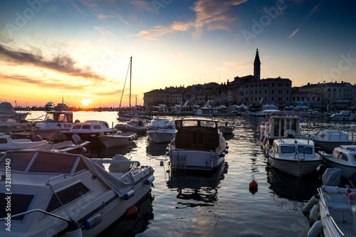 Photo Croatia, Istria, Rovinj, Sunset
