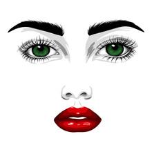 Fashion Illustration. Beautifu...