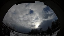 Winter Panorama 204 With Blue ...