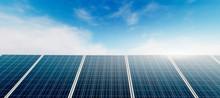 Panoramic - Solar Panel At Sun...