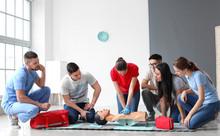 Instructor Demonstrating CPR O...