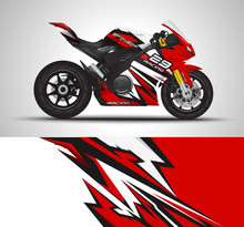 Motorcycle Wrap Decal And Viny...
