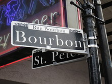 Bourbon Street At The French Q...