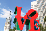 Love Park In Philadelphia  Pennsylvania