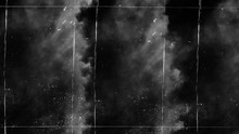 Vintage Old Scratched Grunge Overlays On Isolated Black Background Space For Text.