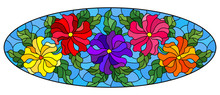 Illustration In Stained Glass ...