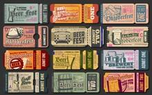 Oktoberfest Ticket Vector Temp...