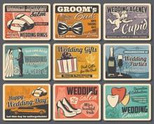 Wedding Rings, Bride And Groom...