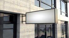 Rectangular Lightbox Sign Outs...