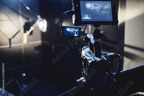 Fotografie, Tablou Video production backstage