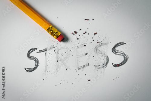 Fotografía stress relief and management concept