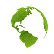 Leinwandbild Motiv Umwelt - Safe Earth