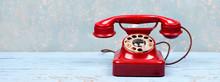 Rotes Telefon - Wichtige Anrufe