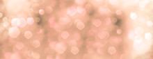 Abstract Pink And Green Bokeh Background