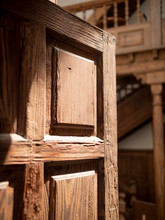 Closeup Photo Of Open Old Wood...