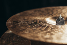 Closeup Of Cymbal, Crash Cymba...