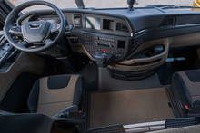 Interior Part Of A Truck. A Wh...