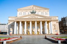 Bolshoi Theater In Moscow, Rus...