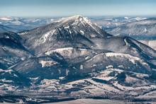 Snowy Hill Choč At Slovakia
