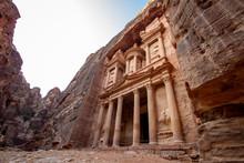 The Treasury Al Khazneh Monume...