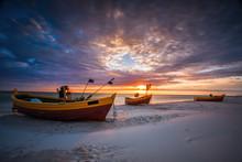 Beautiful Wooden Fishing Boats...