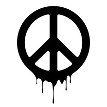 Peace Sign. Vector Peace Icon....