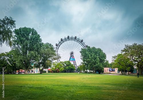 Fotografía The Wiener Riesenrad in Vienna, Austria.