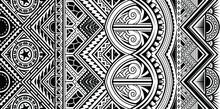Polynesian Tattoo Style Orname...