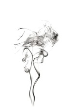 Illustration Of Smoke Against ...