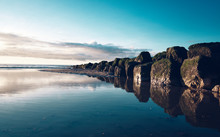 Beautiful Calm Sea Water On A ...
