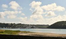 Locguénolé Dans La Baie De Morlaix Dans Le Finistère En Bretagne
