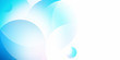 Abstract light blue background with circle shape