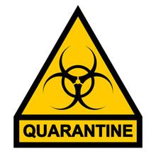 Sign Symbol Quarantine Zone, A...