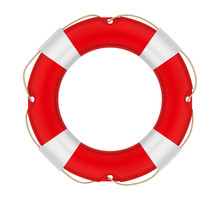Lifebuoy Ring Isolated