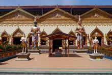 Georg Town Penang Thailändischer Tempel Schlafender Buddha