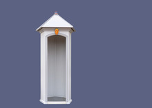 Sentry-box For The Royal Guards.