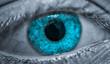canvas print picture - Auge,Iris,Blau,Nahaufnahme,Blick
