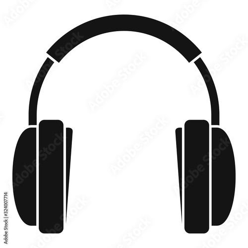 Fotografie, Obraz Wireless headphones icon