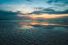 Calm Tranquil Seascape Of Empt...