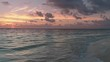 2.7k @ 60fps Flyout from shore during sunrise