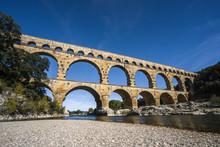 Pont Du Gard Roman Bridge Aque...