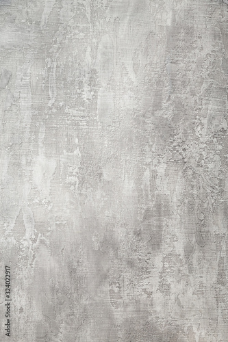 Fotografie, Obraz texture of grey stuccoed wall