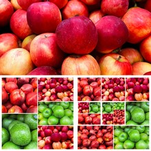 Red Green Apples  Background C...