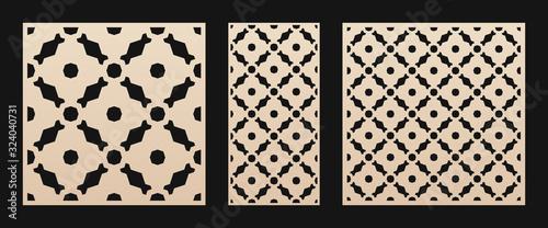 Laser cut pattern Canvas Print